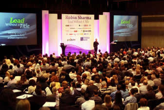 Today Robin Sharma is ranked among the top 5 Leadership experts worldwide