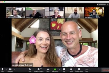 Weekly LIVE Video coaching calls with Jon & Missy Butcher