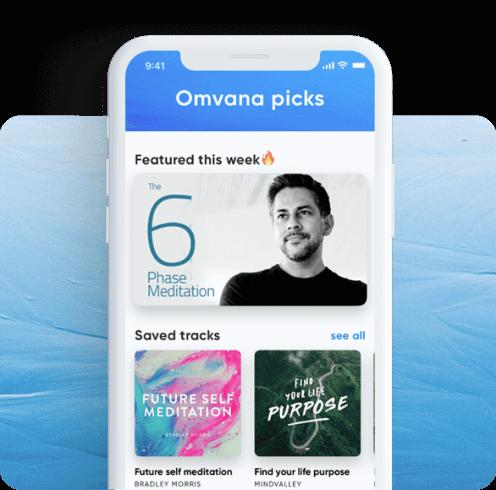 Image of Omvana app