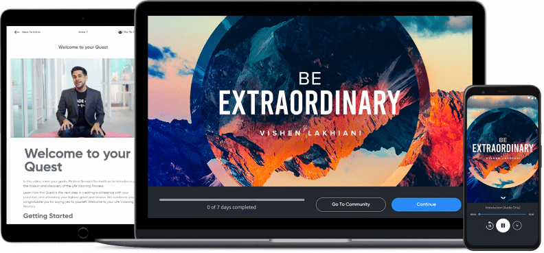 Be Extraordinary On Multiple Devices
