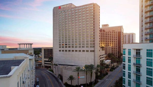 Exterior of Marriott Miami Dadeland